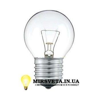 Лампа накаливания шар ДШ 220V 60W E27