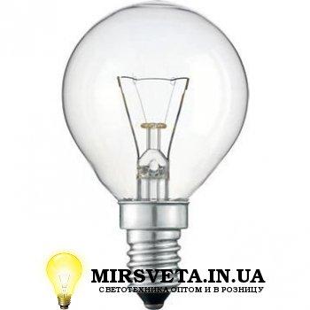 Лампа накаливания шар ДШ 220V 60W E14