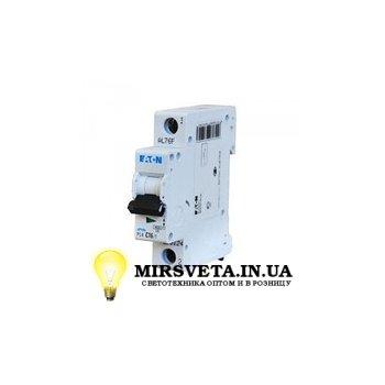 Автоматический выключатель 1п 16А  PL4-C16/1 Eaton