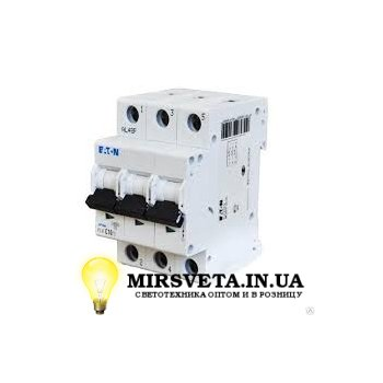 Автоматический выключатель 3п 20А  PL4-C20/3 Eaton