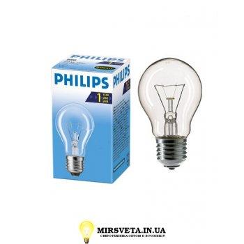 Лампа накаливания ЛОН 220В 25Вт Е27 Stan 25W E27 230V A55 Philips