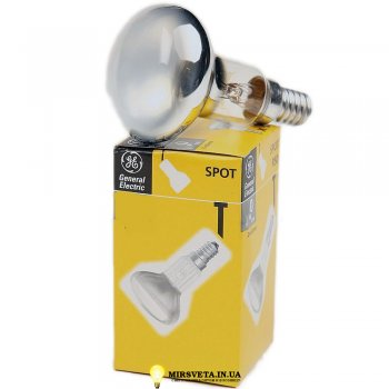 Лампа накаливания рефлекторная R39 30Вт Е14 30 R39/E14 GE