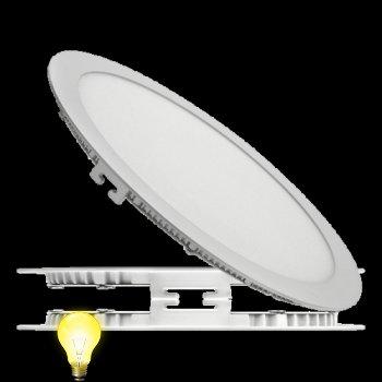Светильник светодиодный встраиваемый (даунлайт)ЛЕД ДЕЛЬТА 15 Вт/840-020, 200 мм