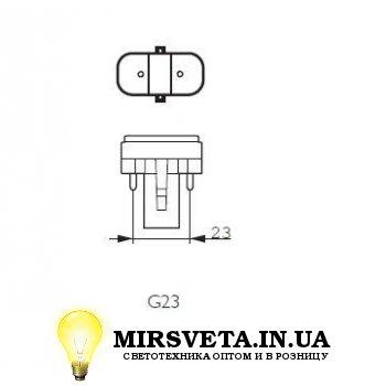 Лампа енерго сберегающая компактно люминесцентная PL-S  9W/830/2P Philips