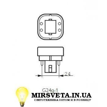 Лампа енерго сберегающая компактно люминесцентная PL-C  13W/830/4P Philips