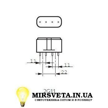 Лампа енерго сберегающая компактно люминесцентная PL-L 36W/840/4P Philips