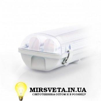 Светильник светодиодный пыле влагозащищенный герметичный EVRO-LED-SH-2*10 (2*600мм) с лампой ЛЕД